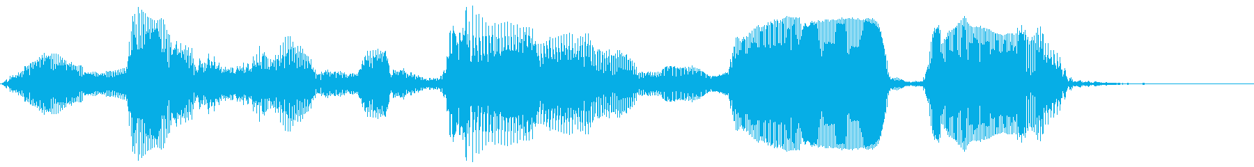 今すぐダウンロード (元気な声、早め)の再生済みの波形