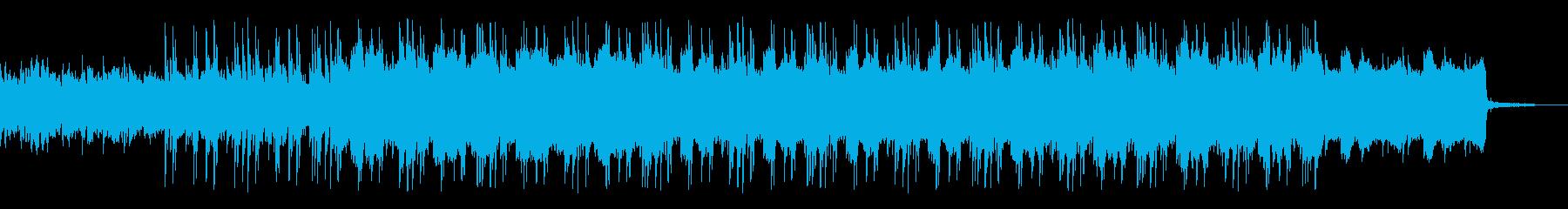 寒い時期にぴったりな哀れ感じる電子音楽での再生済みの波形