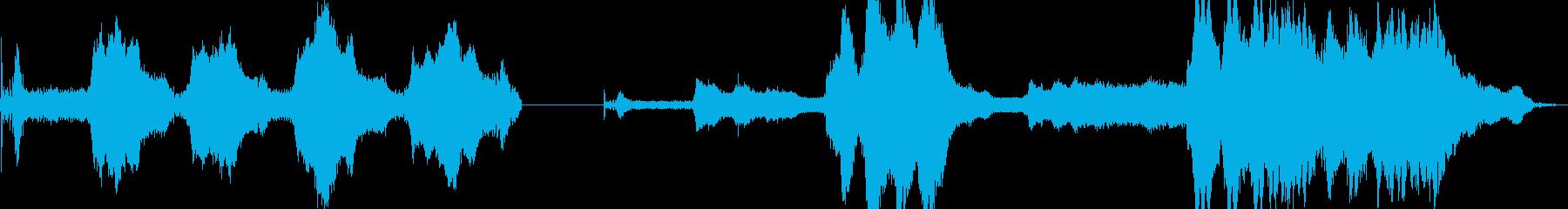 カー、スモール、ヨーロッパ、リバー...の再生済みの波形