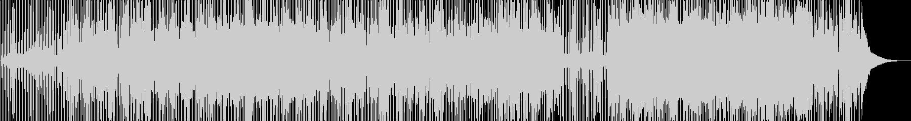晴れやかなオープニングを彩るベルPOPSの未再生の波形