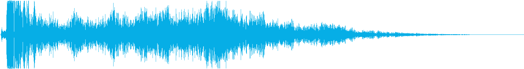 【銃】 25 ハンドガン バーンッの再生済みの波形