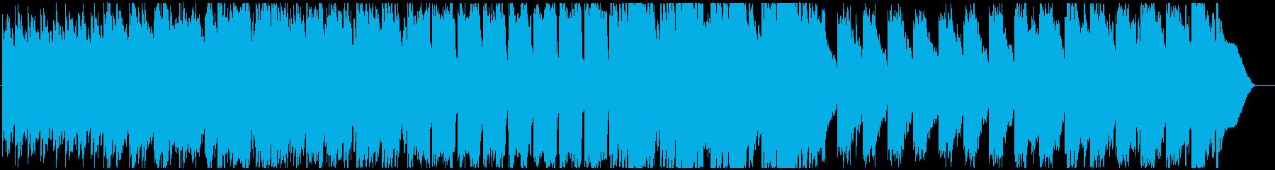 妖精の森をイメージしたファンタジーBGMの再生済みの波形