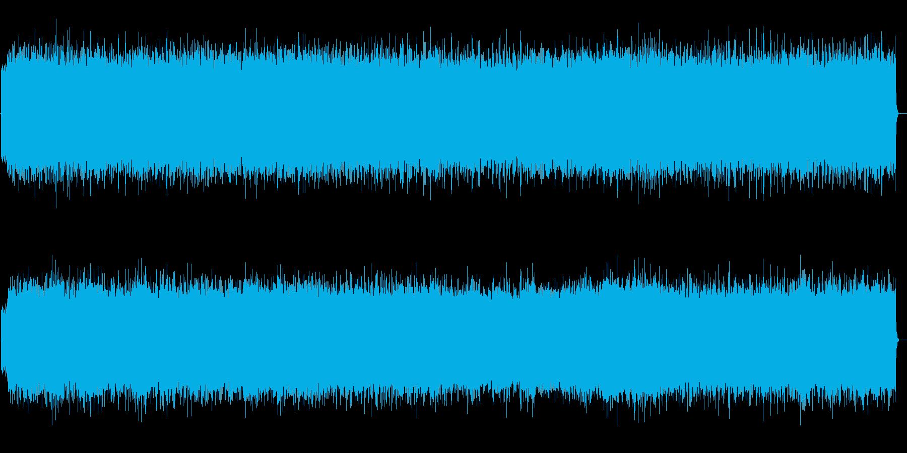 ステレオラブ風のオルガンSFモンドの再生済みの波形