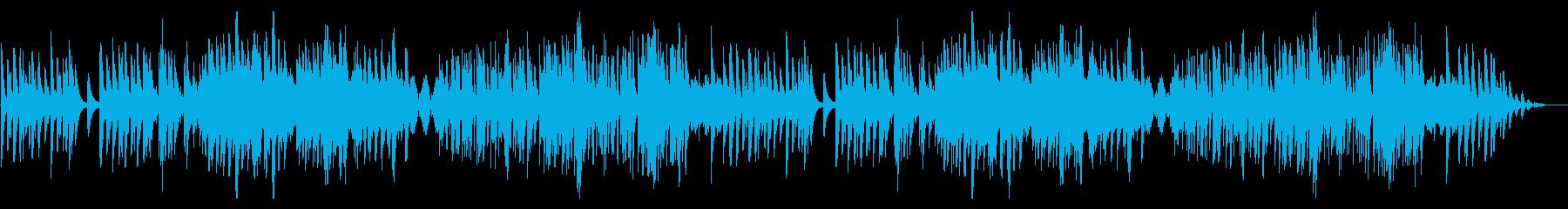 旋律とコード進行が光る静かなピアノソロ曲の再生済みの波形