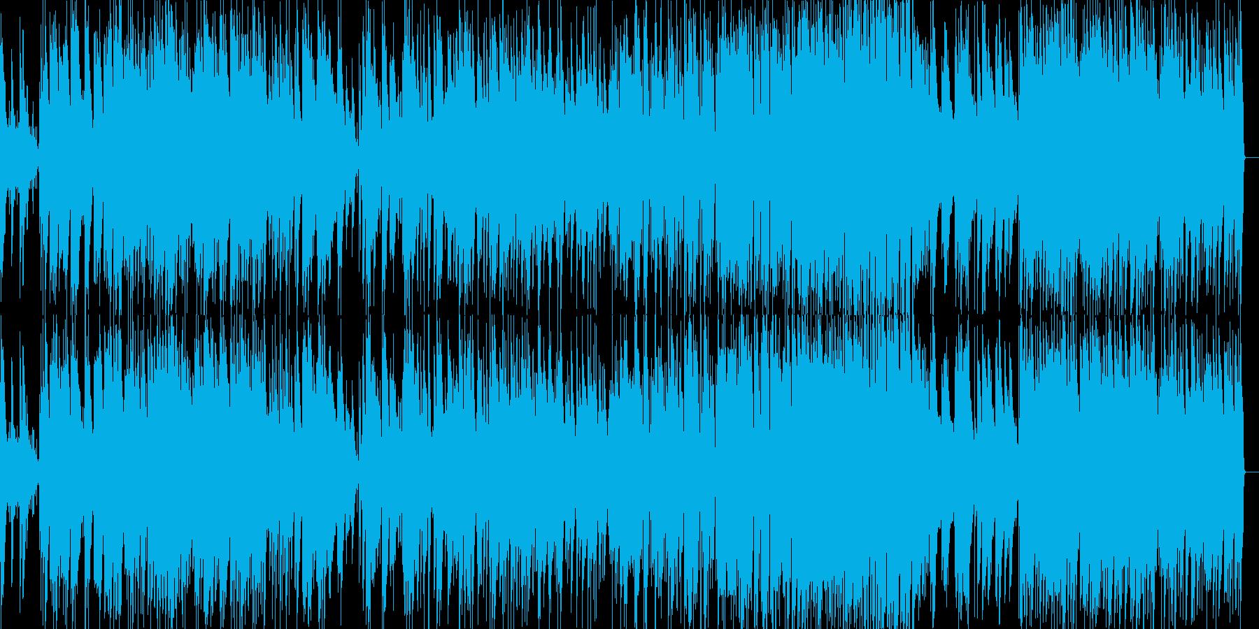白鳥の湖ジャズピアノトリオアレンジの再生済みの波形