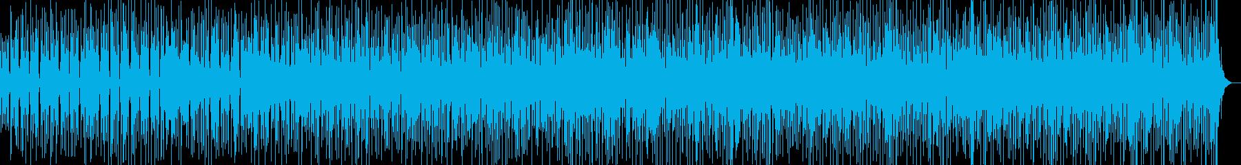 ディープなラテンのリズム、ソンアフロの再生済みの波形
