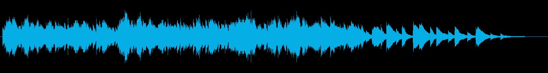 祈り・バロック音楽ピアノソロの再生済みの波形