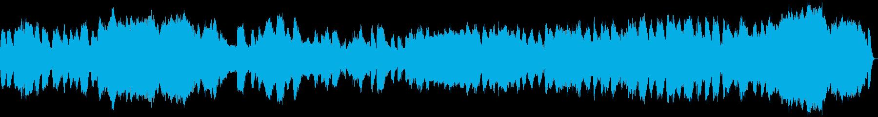 【瞑想用音楽】大自然の一部となるイメージの再生済みの波形