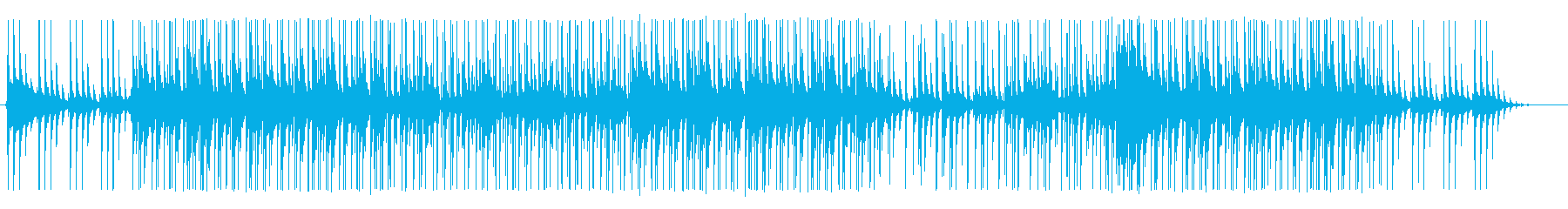 切なさと哀愁のあるミドルテンポのEDMの再生済みの波形