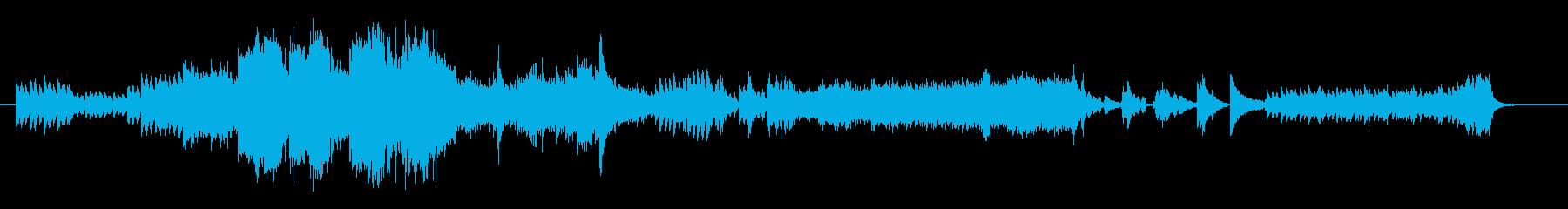 重厚でスリリングなオケ アンビエントの再生済みの波形