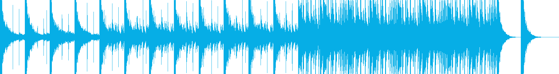 和風/ダーク/ホラー/不気味/和太鼓/の再生済みの波形