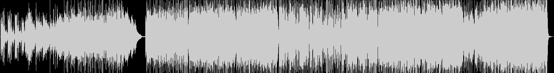 水しぶきをピアノメインで表現したインストの未再生の波形