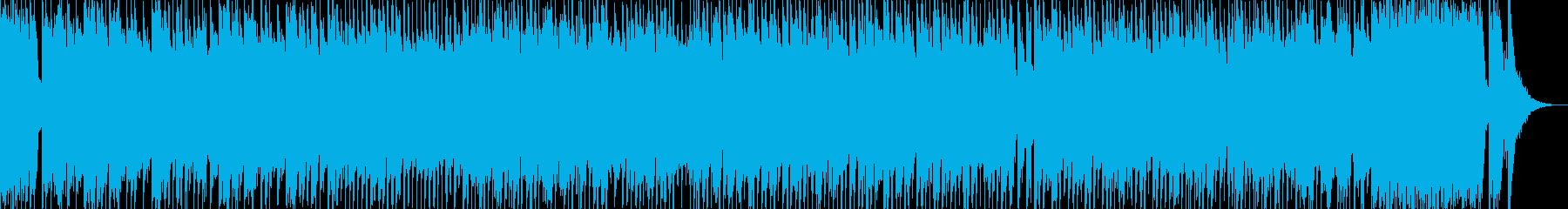 ハイテンション!和風ロック  琴、三味線の再生済みの波形