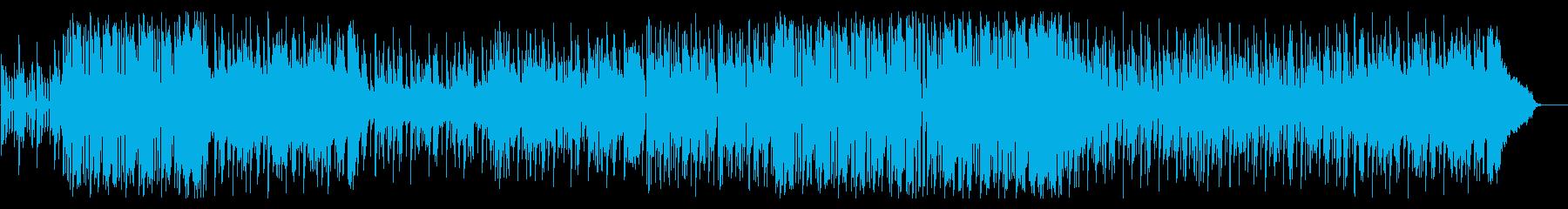 キュートでお洒落なポップエレクトロの再生済みの波形
