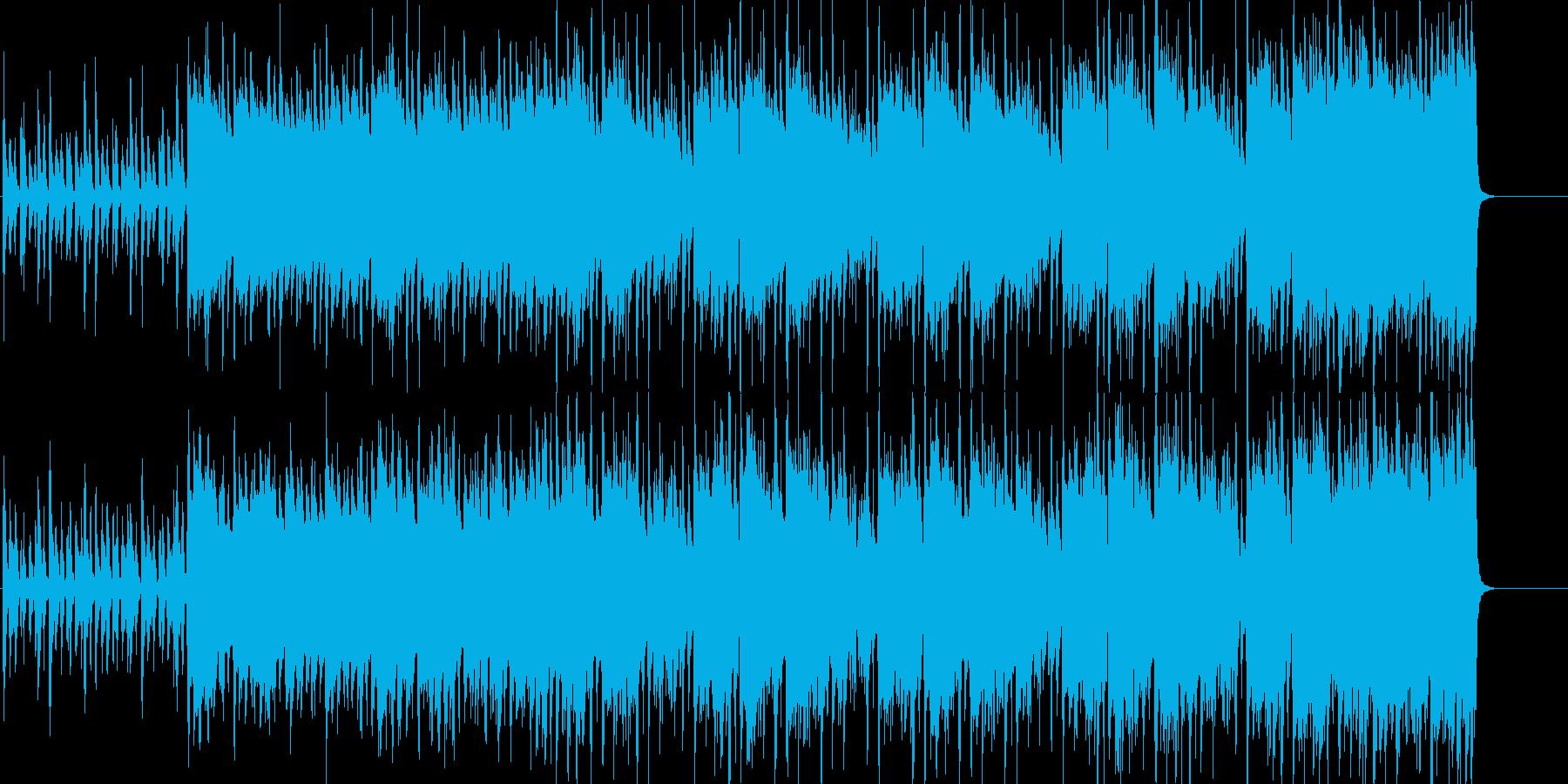 クールなオープニング!ピアノとバイオリンの再生済みの波形