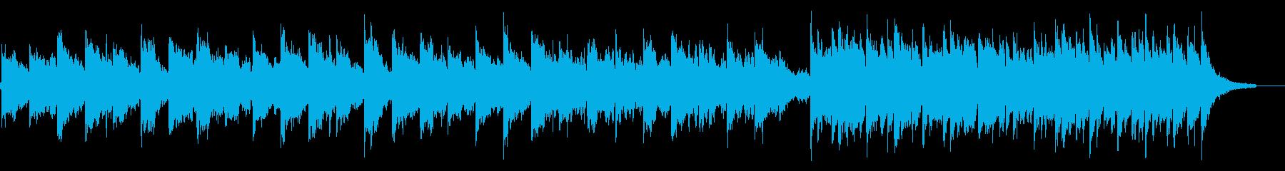 ノスタルジックで幻想的なバラードの再生済みの波形