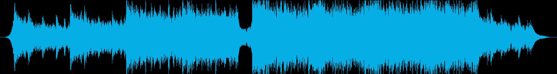 トレーラー向け重厚なオーケストラエピックの再生済みの波形
