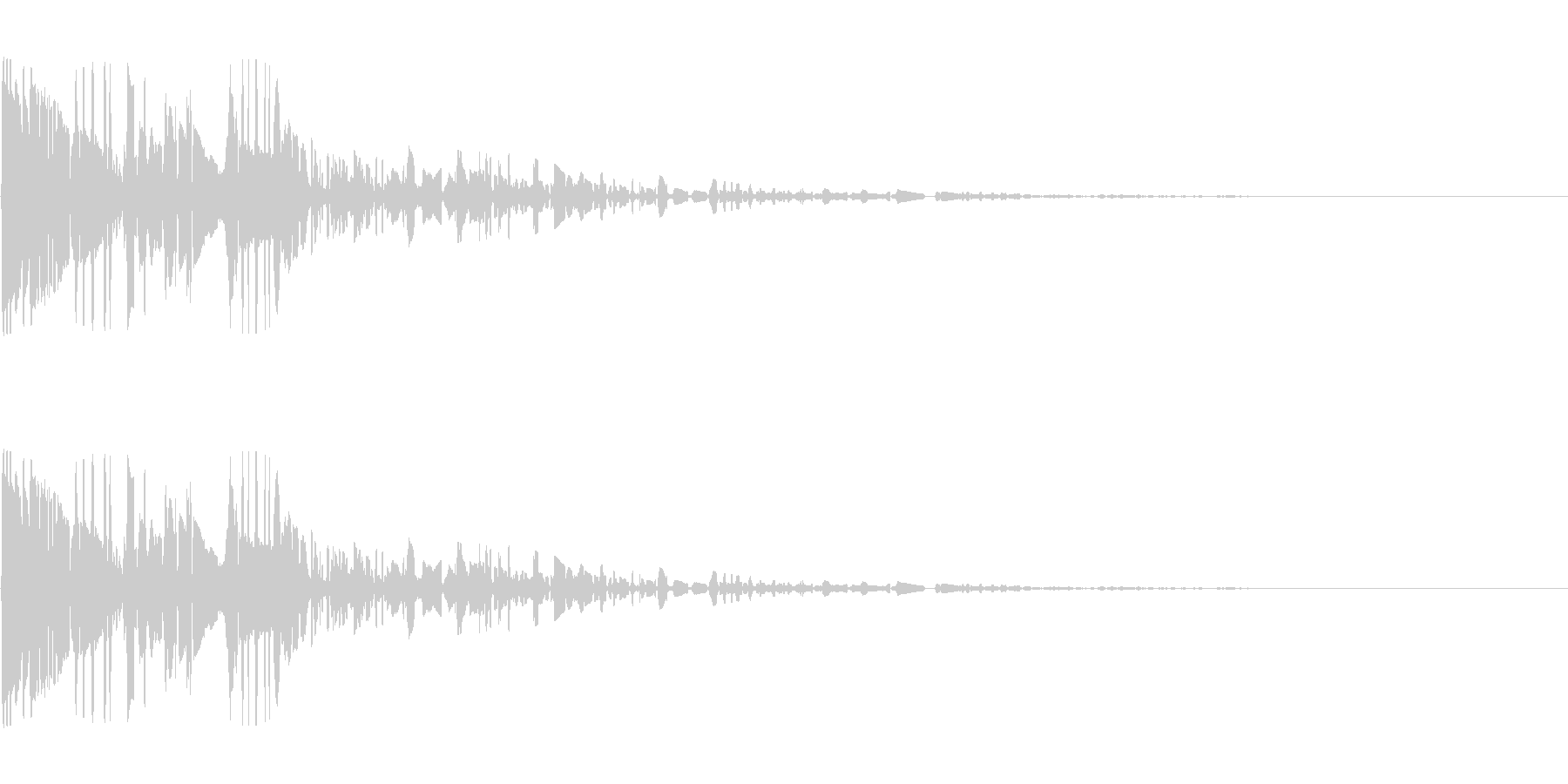 ドサッ(落下や倒れる衝撃音)04の未再生の波形