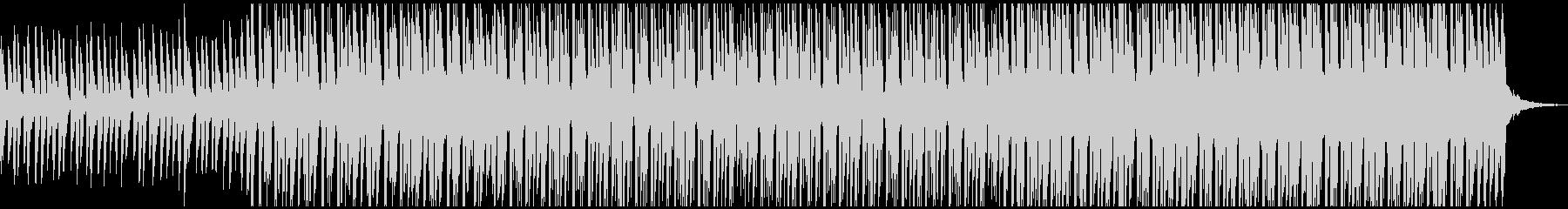 ハウス(中)の未再生の波形