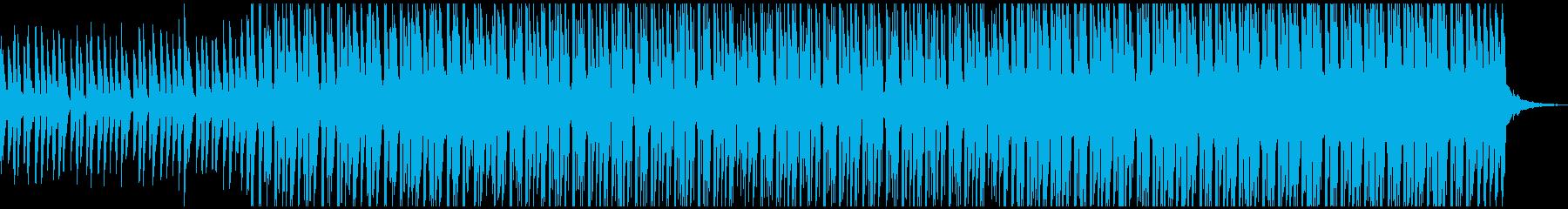 ハウス(中)の再生済みの波形