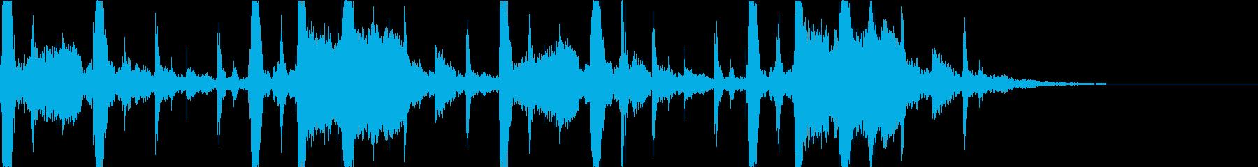 都会的でおしゃれなEDM4の再生済みの波形
