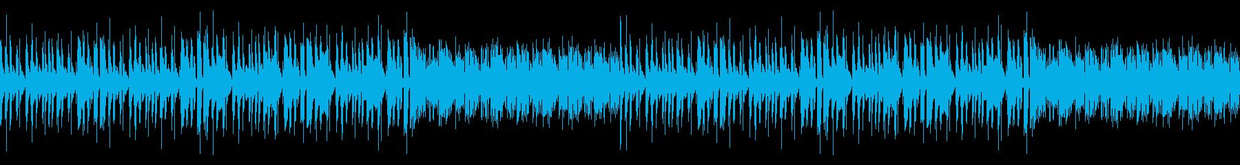 おしゃれYouTube・穏やか温かい日常の再生済みの波形