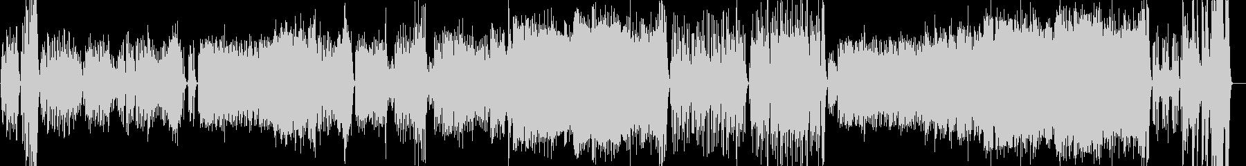 ゆったりとして上品なオーケストラワルツの未再生の波形