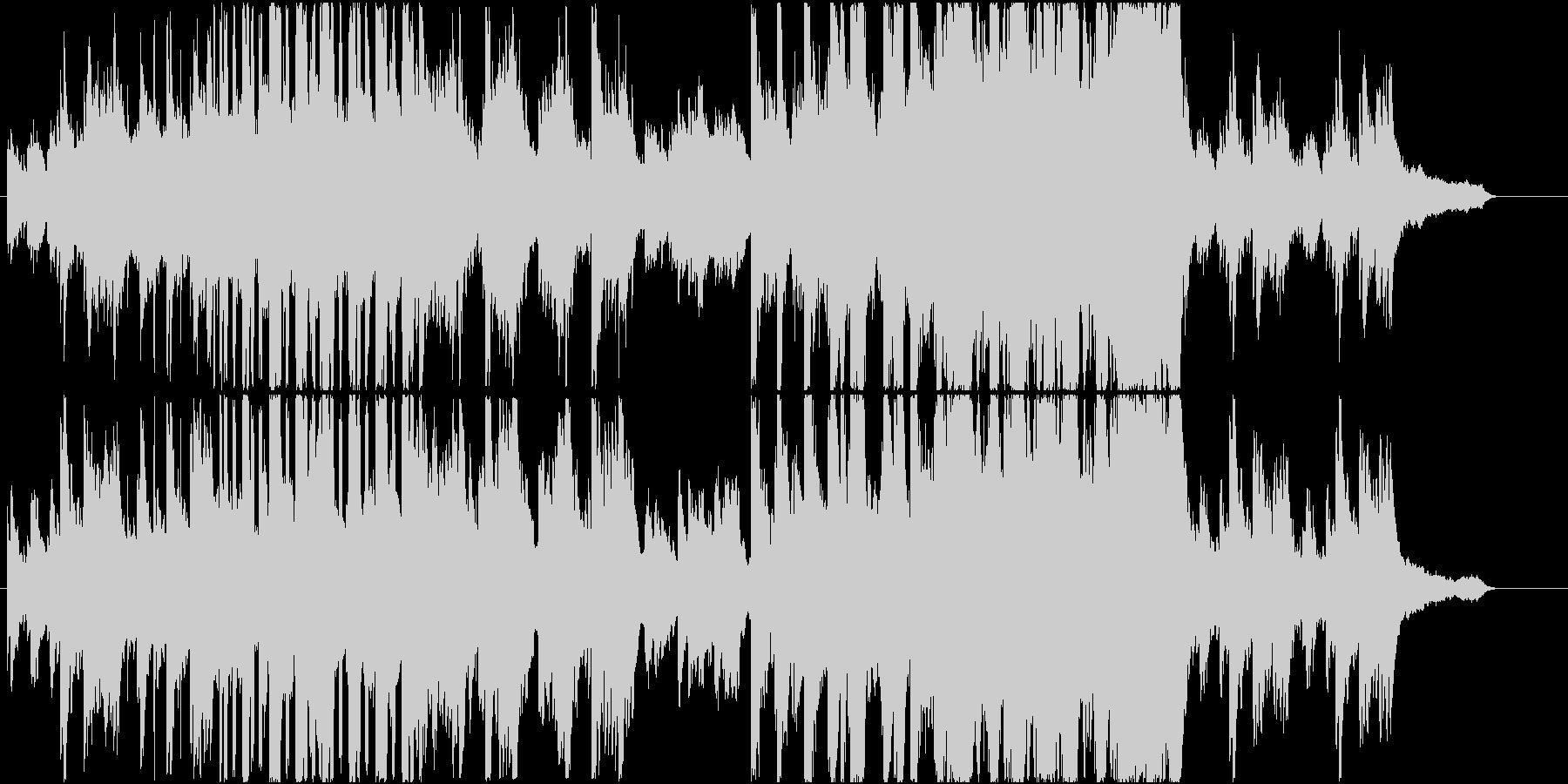 感動を呼ぶ美しいピアノ曲 和風 アニメの未再生の波形