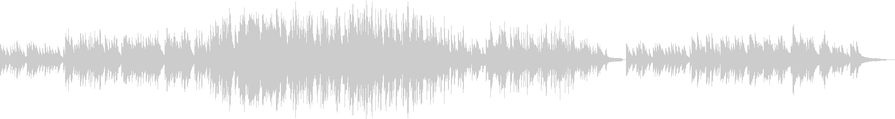 叙情的なピアノバラードの未再生の波形