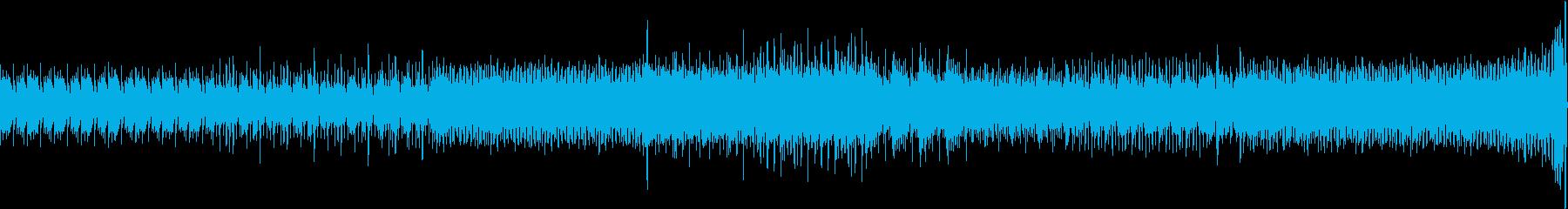 ディジュリドゥ を使った民族系トランスの再生済みの波形