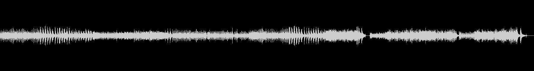 切ないチェンバロ曲の未再生の波形