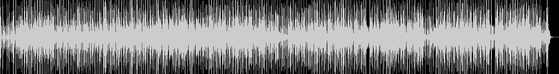 ファンキーな琴・三味線ヒップホップの未再生の波形