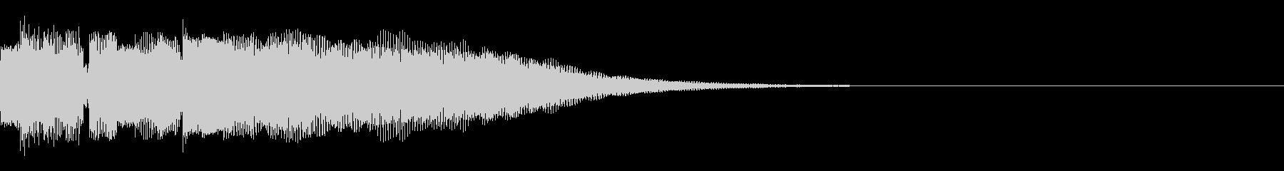 ギターマイナーアルペジオ ジングルで使用の未再生の波形