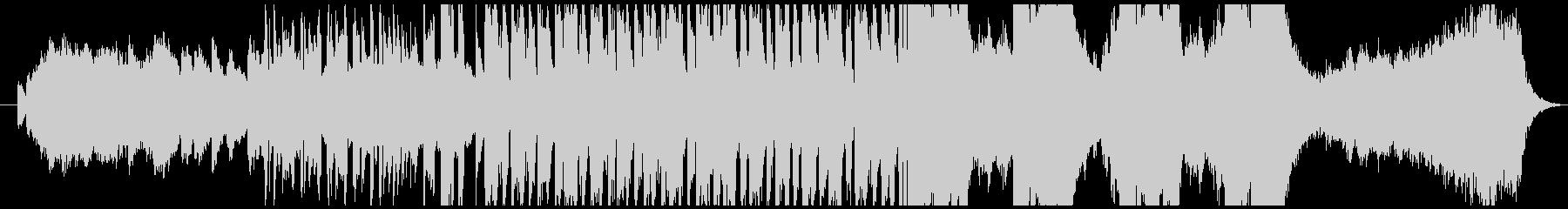 ハロウィン・かわいいホラー曲(ループ)の未再生の波形