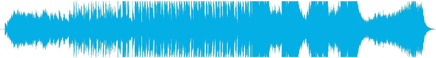 ハロウィン・かわいいホラー曲(ループ)の再生済みの波形