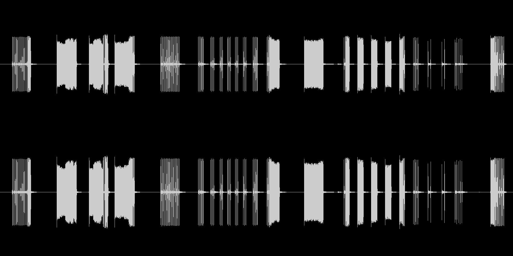 FX トーキングアーケード03の未再生の波形