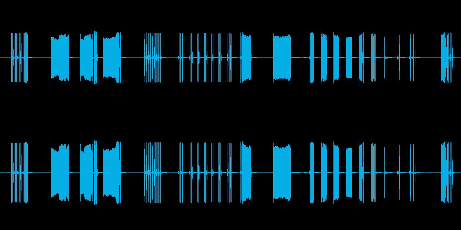 FX トーキングアーケード03の再生済みの波形