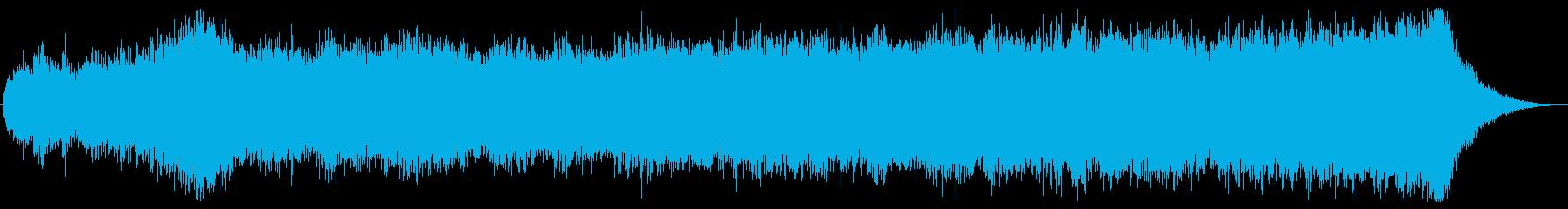 「夜間侵入」の代替キューの再生済みの波形