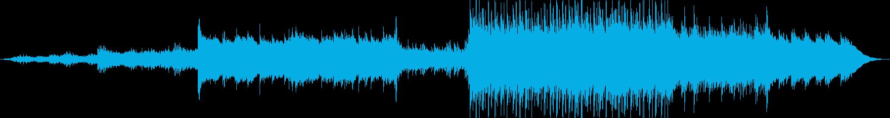 綺麗な音色で心地よいメロディーの再生済みの波形