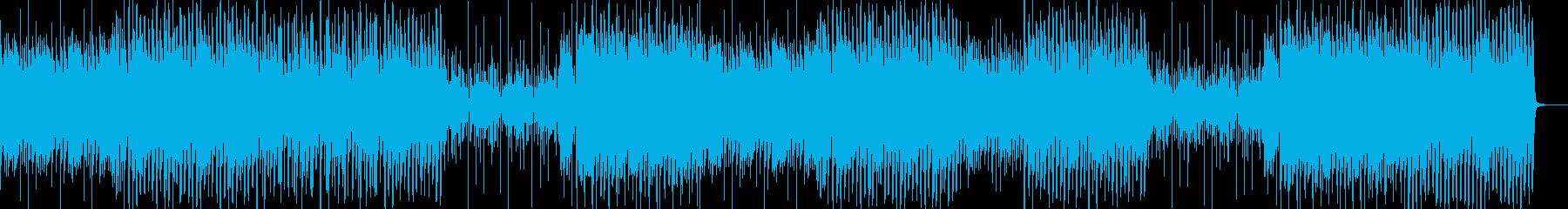 アニメのポップスな感じの再生済みの波形