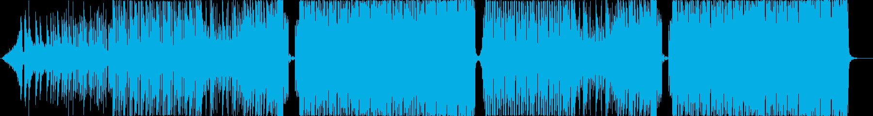 ノリノリなK-Pop,EDMポップ♬の再生済みの波形