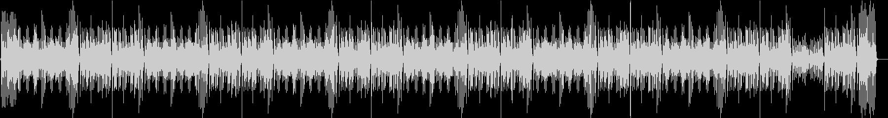 ジングルベル、古い映画風ピアノ の未再生の波形