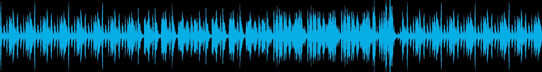 居酒屋で聴きたくなるような曲の再生済みの波形