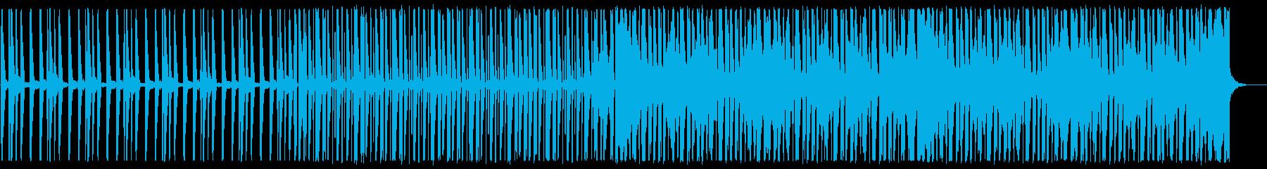 涼しげなディープハウス_No615_2の再生済みの波形