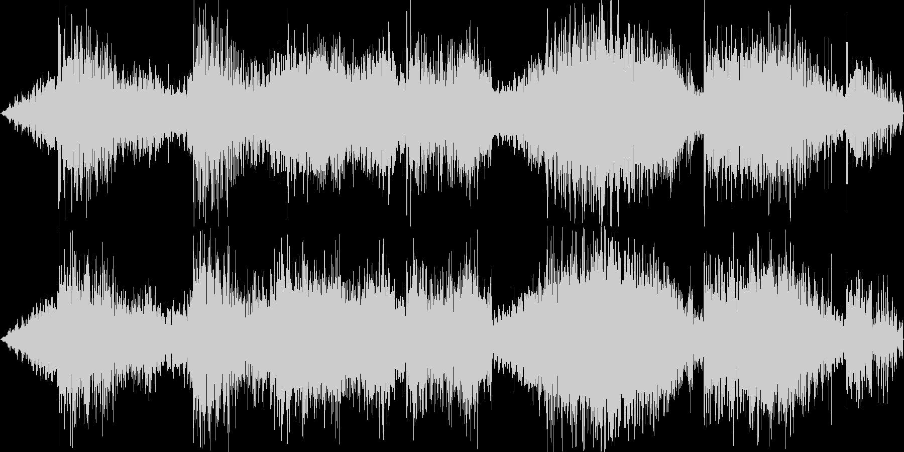 Psyなシーケンスですの未再生の波形
