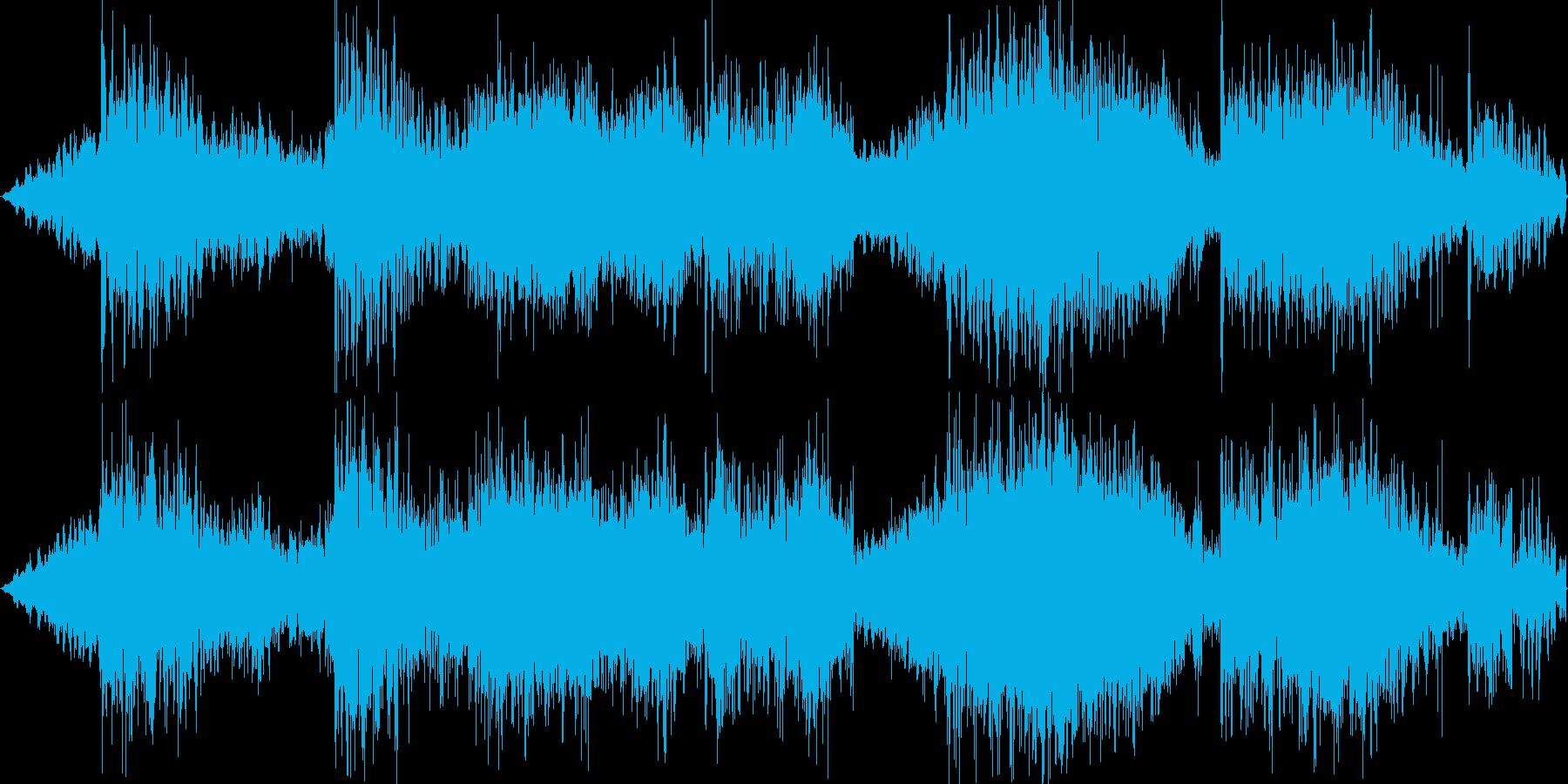 Psyなシーケンスですの再生済みの波形