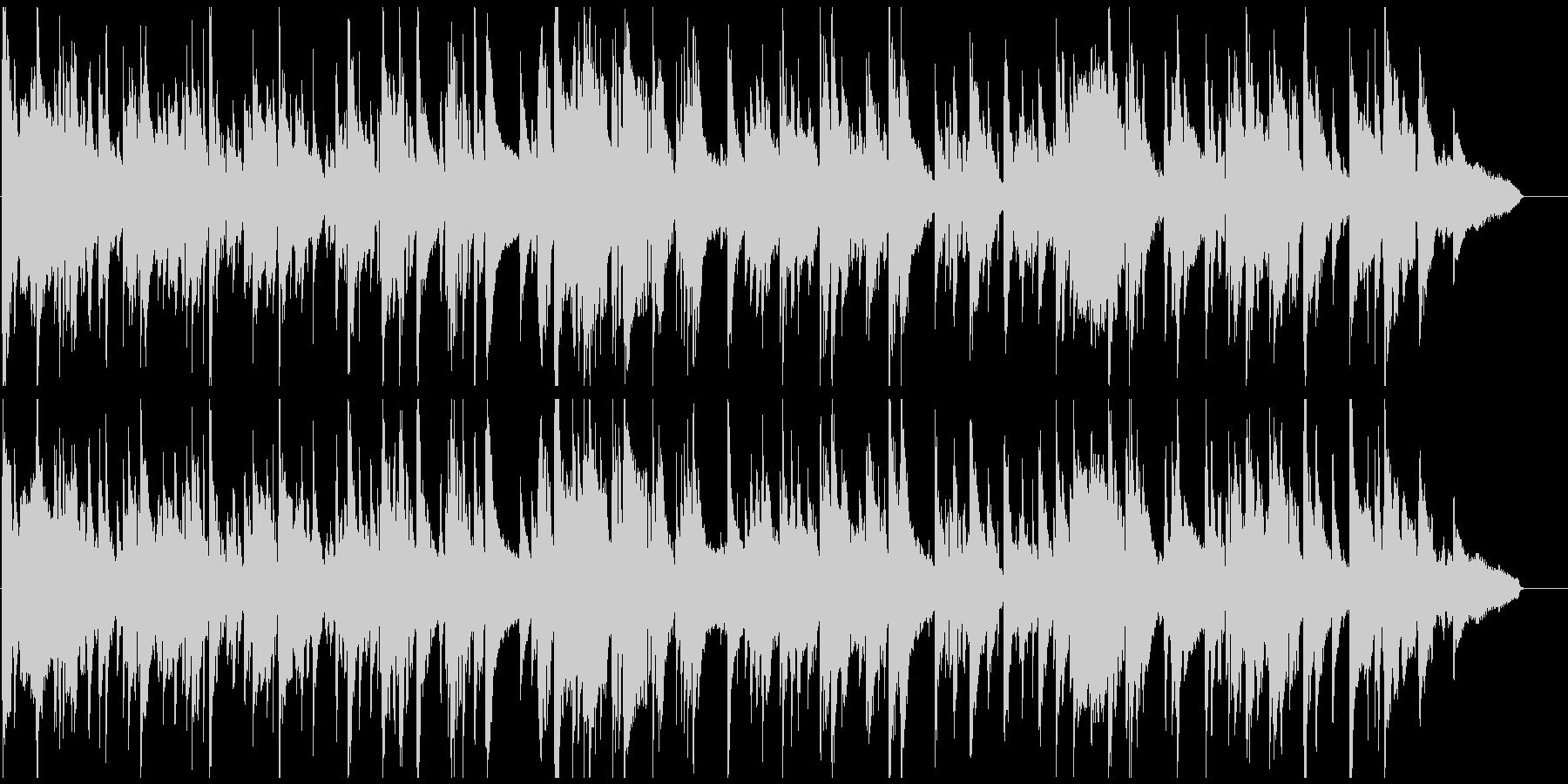 エロいサックス、ギャグのお色気シーンの未再生の波形