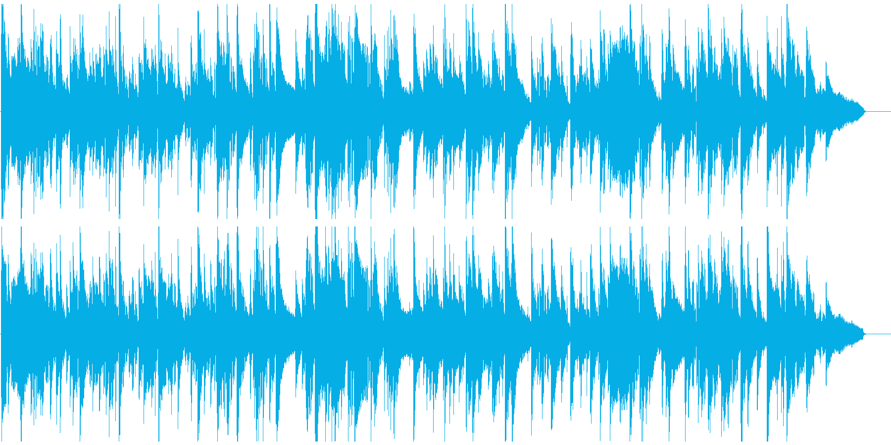 エロいサックス、ギャグのお色気シーンの再生済みの波形