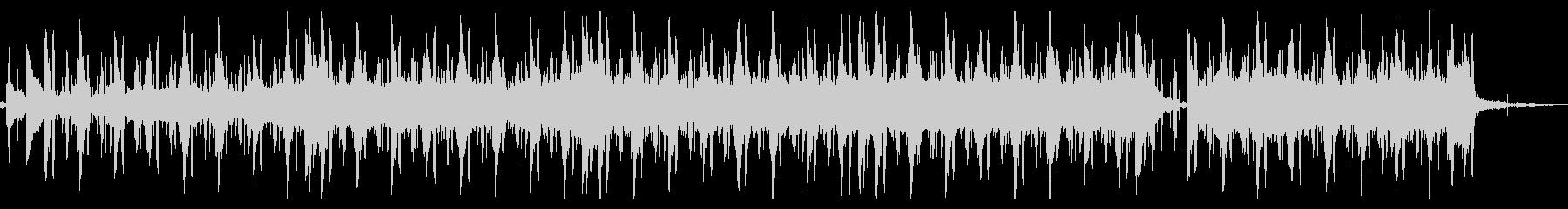 ジャズ風なLo-Fi Beatsの未再生の波形