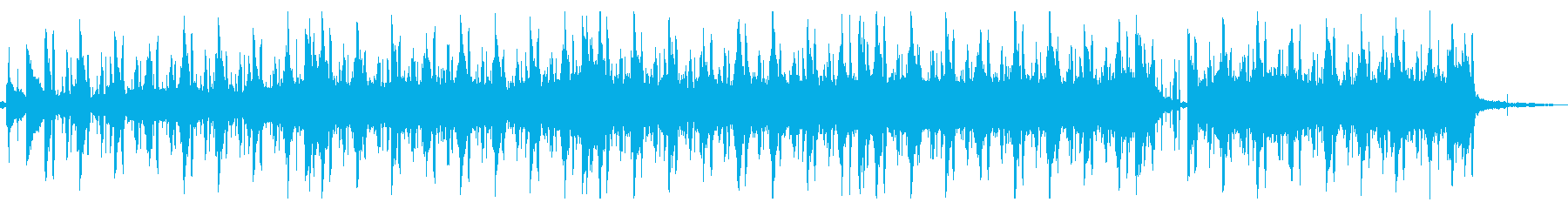 ジャズ風なLo-Fi Beatsの再生済みの波形